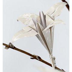 Lelie van origami