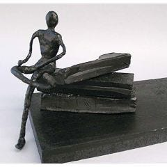 Sculptuur gemaakt van Cheese Wax