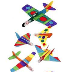 Vliegtuigen met Colortime stiften