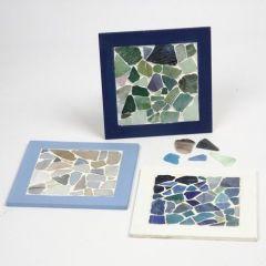 Collage frame met mozaiek