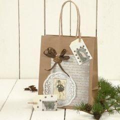 Cadeautas met decoratie