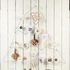 Kerstboom van Bonsai draad
