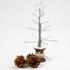 Een boom op een spoel