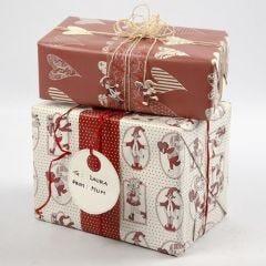Geschenkverpakking van Vivi Gade Design Papier (Copenhagen-Serie)