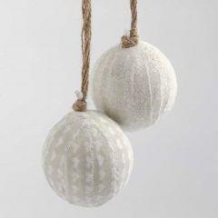 Kerstballen met Vivi Gade Design textiel
