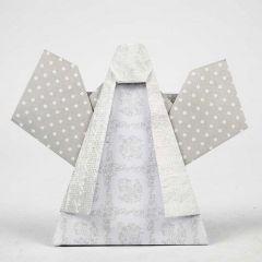 Een engel gevouwen van Vivi Gade Design papier