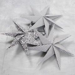 7-Punten ster gemaakt van Vivi Gade papier