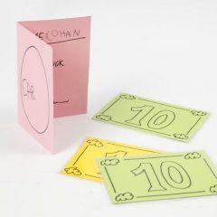DIY speelgeld en speelgoed rijbewijs
