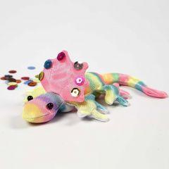 Een creepy crawly  – gedecoreerd met textielstiften
