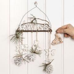 Decoratie voor de deur