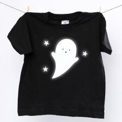 T-Shirt met reflecterend spook