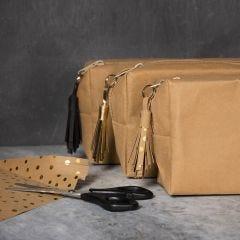 Tassel van Faux Leather Papier