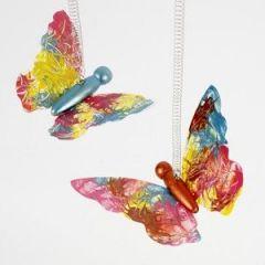Gedecoreerde vlinders