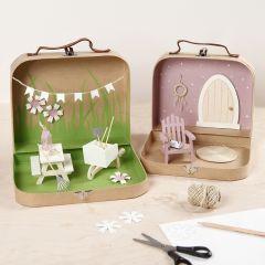 Een tuin in je koffer met mini meubilair en accessoires