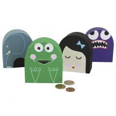 Fun, imaginative money boxes