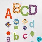 Mobiel met letters