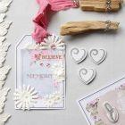 Een extra grote geschenklabel met Vivi Gade Design Papier