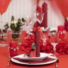 Rood op tafel