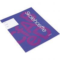 School oefenboek, A5, afm 14,8x21 cm, 200 stuk/ 1 doos