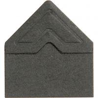 Foto hoeken, B: 10 mm, 110 gr, zwart, 108 stuk/ 1 doos