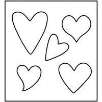 Snijmal, hart, afm 14x15,25 cm, dikte 15 mm, 1 stuk