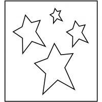 Snijmal, ster, afm 14x15,25 cm, dikte 15 mm, 1 stuk