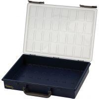Opslag box, zonder losse inzet boxen, H: 8 cm, afm 33,8x26,1 cm, 1 stuk