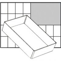 Inzet Box, afm A6-1, H: 47 mm, afm 157x109 mm, 1 stuk