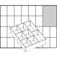 Inzet Box, afm A78 Low, H: 24 mm, afm 109x79 mm, 1 stuk