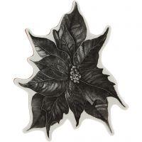 Stempel, Kerstster, H: 5 mm, afm 14x11 cm, 1 vel