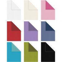 Structuurpapier, A4, 210x297 mm, Inhoud kan variëren , 100 gr, diverse kleuren, 30x20 vel/ 1 doos