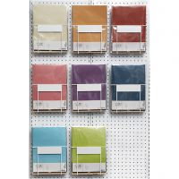 Vellum papier, A4, 210x297 mm, 100 gr, diverse kleuren, 8x10 doos/ 1 doos