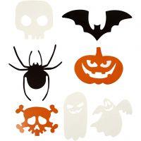 Halloween figuren, afm 5-10 cm, 180 gr, 50 stuk/ 1 doos