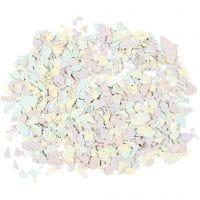 Terrazzo vlokken, pastelkleuren, 90 gr/ 1 Doosje