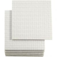 3D foam pads, afm 5x5 mm, dikte 2 mm, 10x400 stuk/ 1 doos
