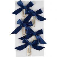 Paperclips, afm 40x70 mm, blauw, 5 stuk/ 1 doos