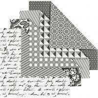 Origamipapier, afm 15x15 cm, 80 gr, 50 div vellen/ 1 doos