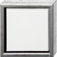 ArtistLine Canvas met lijst, diepte 3 cm, afm 19x19 cm, wit, 6 stuk/ 1 doos