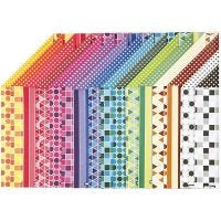 Color Bar karton, A4, 210x297 mm, 250 gr, 16 div vellen/ 1 doos