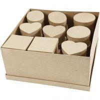 Medium dozen, H: 5 cm, d: 10-12 cm, 28 stuk/ 1 doos