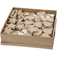 Kersthangers, H: 7-8 cm, 6x29 stuk/ 1 doos