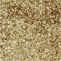 Bio Glitter, d: 0,4 mm, goud, 10 gr/ 1 Doosje