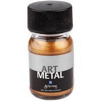 Hobbyverf metallic, antiek goud, 30 ml/ 1 fles