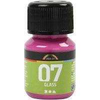 A-Color Glass, roze, 30 ml/ 1 fles