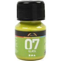 A-Color Glass, kiwi, 30 ml/ 1 fles