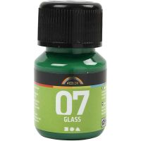 A-Color Glass, brilliant groen, 30 ml/ 1 fles