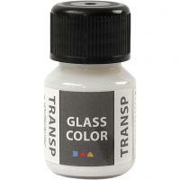 Glass Color Transparent, wit, 30 ml/ 1 fles