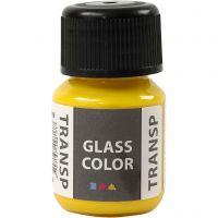 Glass Color Transparent, citroengeel, 30 ml/ 1 fles