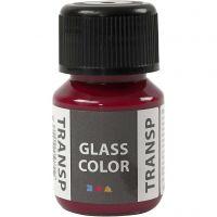 Glass Color Transparent, roze, 30 ml/ 1 fles