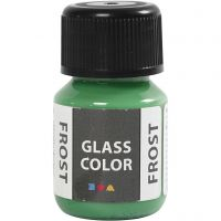 Glass Color Frost, groen, 30 ml/ 1 fles